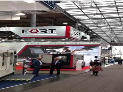 迪奥数控精雕机设备有限公司参观德国国际机床展