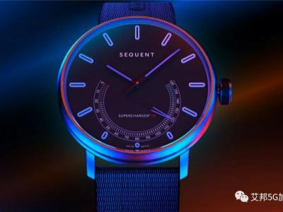 新型自充电手表钛金属表壳精雕机